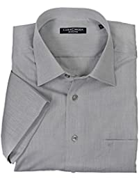 Graues Hemd von Casamoda in Übergrößen bis 7XL