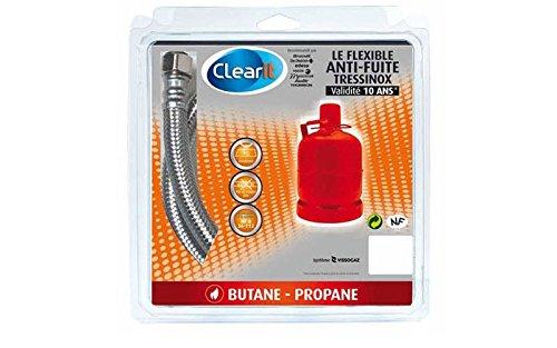 Gaz Butane Tressinox 10 Ans 1m Pour Accessoires Brandt