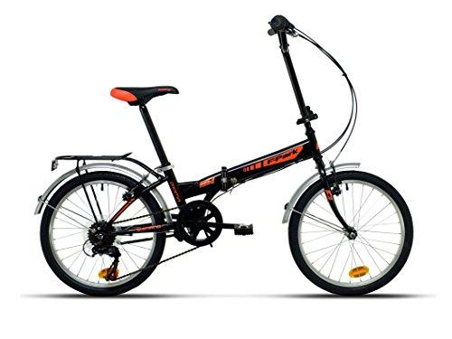 Moma Bikes Vélo de Ville Pliant, Folding Park, Shimano 6V