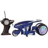 MAISTOTECH Maisto Tech-82066P Moto De Policía con Radio Control, Color Azul (82066P