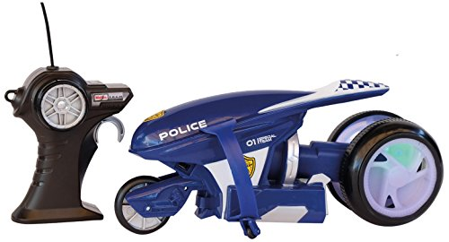 MAISTOTECH-82066P Moto de Policía con Radio...