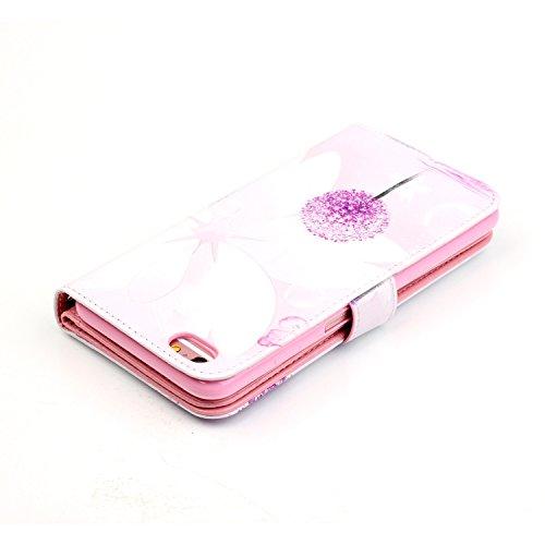 Etui Coque PU Slim Bumper pour Apple iPhone 6 Plus (5,5 pouces) Souple Housse de Protection Flexible Soft Case Cas Couverture Anti Choc Mince Légère Silicone Cover Bouchon -photo Frame Keychain #AS (6 1
