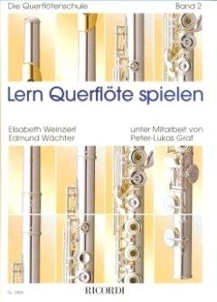LERN QUERFLOETE SPIELEN 2 - arrangiert für Querflöte - mit CD [Noten / Sheetmusic] Komponist: WAECHTER EDMUND + WEINZIERL ELISABETH