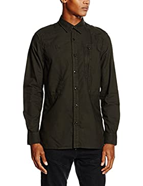 G-STAR RAW Herren Smoking Hemd Powel Shirt Long Sleeve