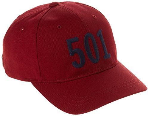 levis-herren-501-basseball-baseball-cap-rot-regular-red-one-size