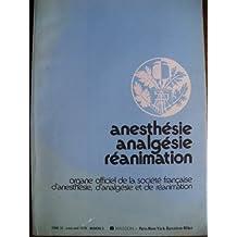 Anesthésie, analgésie, réanimation. Tome 35, n°2. Mars-avril 1978