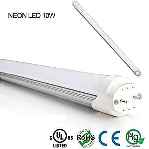 NEON tube LED 10W BLANC FROID DE 59 CM ATTACK T8 lampe blanche 140556