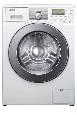 Samsung WF10824 Waschmaschine / A+++ / 185 kWh/Jahr / 10600 Liters/Jahr / 1400 UpM / 8 kg / Diamond Pflegetrommel / Vollwasserstopp