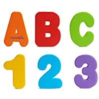 ‏‪Munchkin Letters and Numbers Bath Toys, 36 Count‬‏