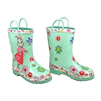 Lilybobtail wellies, girls wellies, Peter Rabbit, infant size 8, outdoor toddler gift, Free giftwrap