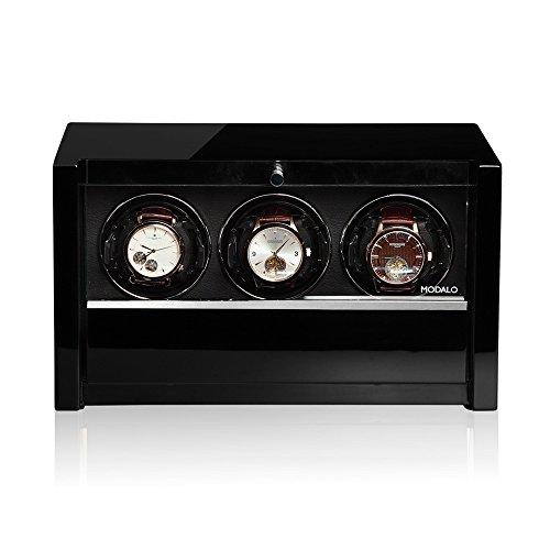 Modalo Clasico MV3 Uhrenbeweger für 3 Automatikuhren in schwarz 3303113 - 4
