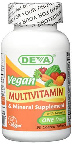 Deva, Multivitamin- und Mineral Supplement, veganisch, 90 Dragees