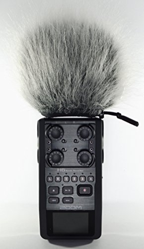 Master Sound ZOOM H6 Professional Three Layers Furry Windscreen with Acoustic Foam Technology for Zoom H6. Three Layers For Protect The Record Sound from the Wind For Recorder ZOOM H 6. Zoom Technologies