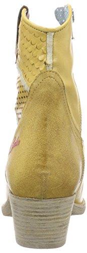 BUNKER Damen Booty Bootsschuhe Gold (CAMEL GOLD)