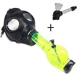 Mascara de gas-Bong (Incluye bong acrílico)