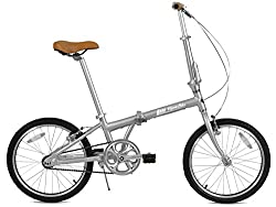 FabricBike Klappfahrrad, Alu-Rahmen, Single Speed, 3 Farben (Space Grey & Black)