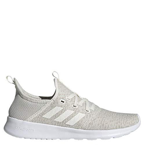 adidas Damen Cloudfoam Pure Laufschuhe, Weiß Cloud White/Ice Mint, 38 EU