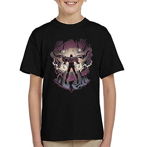 X Men Magneto Magnetic Confrontation Kid's T-Shirt