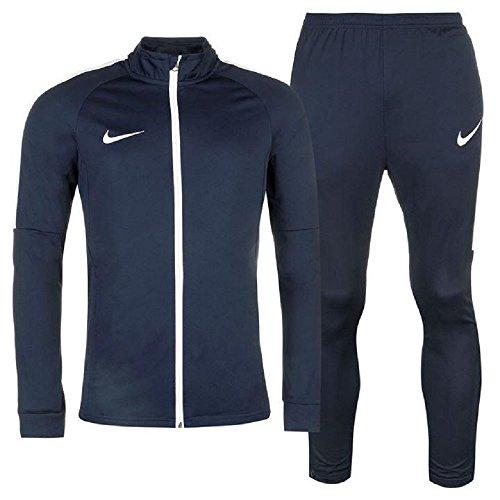 Nike Herren Sport Academy Warm Up 2-teilige Trainingshose Gr. L, Navy Herren Warm Up Jacke