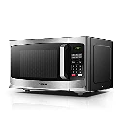 Toshiba Microwave Oven ML-EM23P(SS) 23L Digital Display 800W, Auto Defrost, One-touch Express Cook with 6 Pre-Programmed Auto Cook, Solo Microwave Oven Easy to Clean