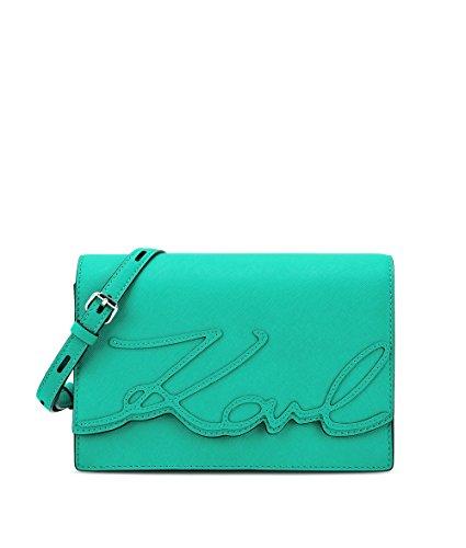 karl-lagerfeld-mujer-71kw3080green-verde-cuero-bolso-de-hombro