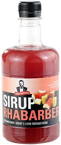 Sirup Royale mit Rhabarber-Geschmack 0,5 Liter PET
