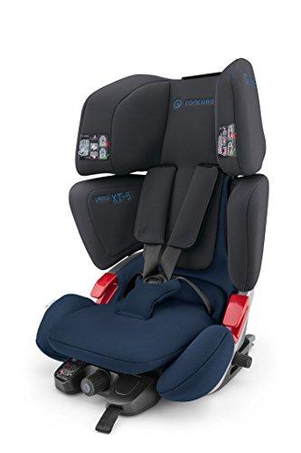 Preisvergleich Produktbild Concord 2004 S.A. VAR0917 Kinderautositz Vario XT-5, Gruppe 1/2/3 (9-36 kg), Kollektion 2017, schwarz/blau