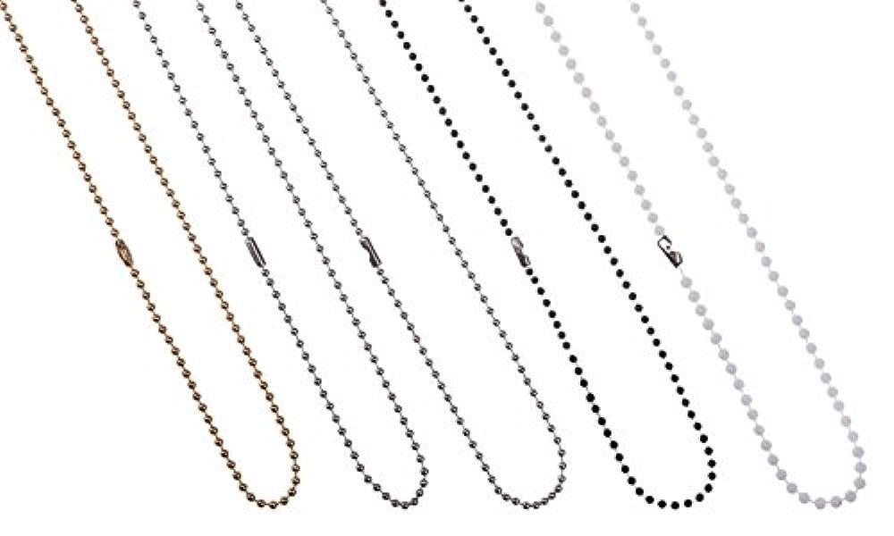 Basin Sink Ball Chain Chrom poliert Kugel Typ f/ür Plug Packung mit 3 450mm 18 Zoll