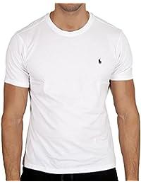 Polo Ralph Lauren Homme Logo Crew Neck T-Shirt, Blanc