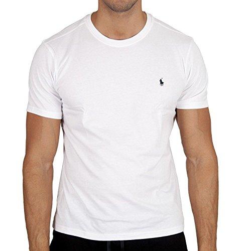 Polo Ralph Lauren T-Shirt (3XL, Weiss) (Lauren Ralph Big And Tall Polo)
