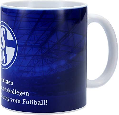 FC Schalke 04 Tasse Die meisten meiner Arbeitskollegen