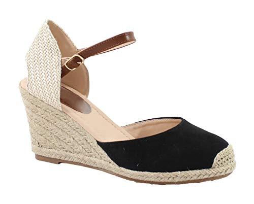 by Shoes - Espadrille Compensée en Corde de Chanvre - Femme