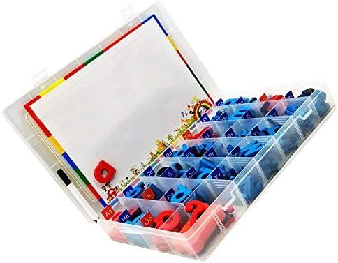 LanLan Puzzles Éducation magnétique de Puzzle d'alphabet d'alphabet d'alphabet Anglais Magnets de réfrigérateur pour des  s apprenant Le Dessin d'orthographe 78pcs | Des Technologies Sophistiquées  1f7bfa