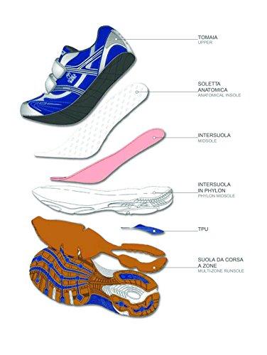 Act seven Blinker, Chaussures de Trail Mixte Enfant Blanc Cassé (Bianco)