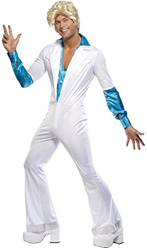 ABBA Jumpsuit for Men. Become Bjorn or Benny.