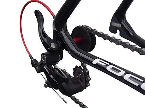 Sportixx Reggicatena, supporto per catena, attrezzo per bicicletta, Sportixx Chain Keeper, Black-R