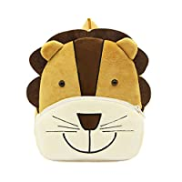 Cute Nursery Kids Backpack Plush Cartoon Toddler Children Bookbag Zoo Lunch Bag for Baby Girl Boy
