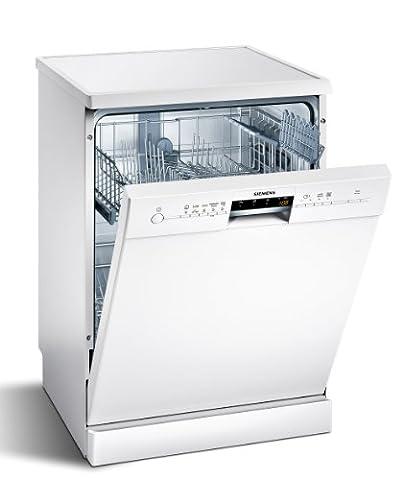 Siemens SN25L230EU iQ500 Freistehender Geschirrspüler / A++ A / 12 Maßgedecke / 60 cm / weiß / unterbaufähig / varioSpeed /