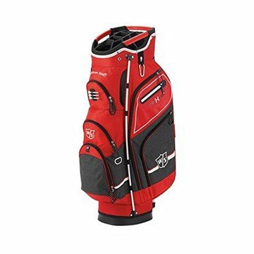 Wilson Staff Nexus Sac de golf III pour Homme Rouge/Noir
