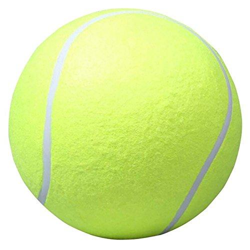 aufblasbaren Tennis Ball Tennis Ball Giant Pet Toy Dog Chew Toy Signatur Mega Jumbo Spielzeug Ball Outdoor liefert, Grün, 24 cm ()