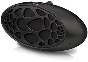 Trekstor AudioDock Cocoon Design Lautsprecher mit Apple iPod/iPhone Docking Station schwarz