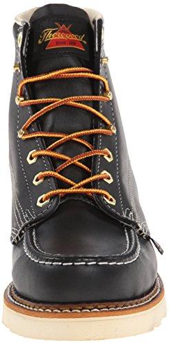 Thorogood Herren Schuhe MOC TOE light brown Black Oil Tanned