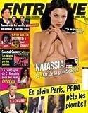 ENTREVUE N? 191 NATASSIA - LA STAR DE LA PUB SCARLET - SAM DEVOILE LES SECRETS DE BATAILLE ET FONTAINE - CATHY GUETTA A BIEN CHANGE - SPECIAL CANNES - LES IMAGES CENSUREES PAR LES MEDIAS - LA COMPAGNE DE C. RONALDO POSE NUE - EN PLEIN PARIS - P. POIVRE D'ARVOR PETE LES PLOMB