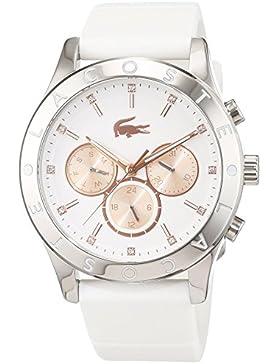 Lacoste Damen-Armbanduhr Analog Quarz Silikon 2000940