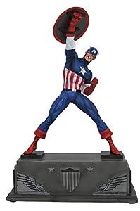 Marvel Comics JUN172632 - Estatua del Capitán América de la colección Premier, 30,5 cm