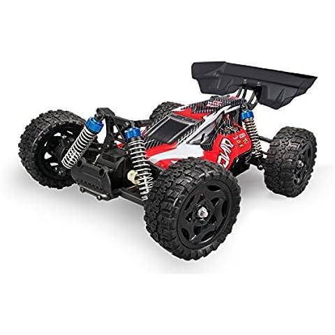 Coche Rc Buggy Dingo Remo 1:16 | Tracción 4x4 | 40 km/h | 15 Minutos | Tienda Hobby Juguetes Baratos