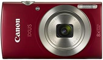 Canon IXUS 185 Digitalkamera (20 Megapixel, 8x optischer Zoom, 6,8 cm (2,7 Zoll) LCD Display, HD Movies) rot