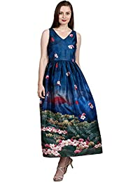 Ritu Kumar Women's A-Line Midi Dress