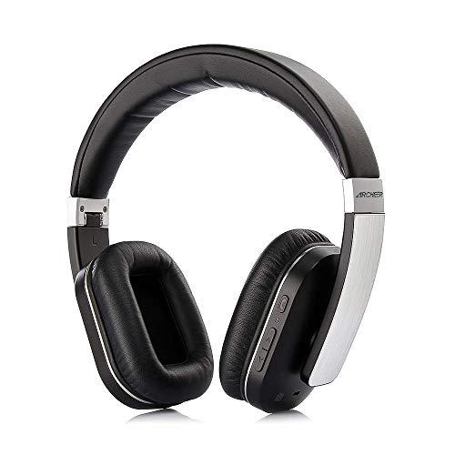 bluetooth Kopfhörer Over Ear Headset Stereo mit AptX, Eingebautem Mikrofon, Zusammenklappbares Design mit On-Ear-Steuerung 14 Stunden Spielzeit für PC iPhone Android Smartphone Over-ear Hands Free-headset