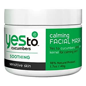 Yes To Cucumbers Masque Apaisant pour le Visage 48 g